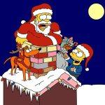 dibujos-navidad-simpsons-p